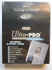 Ultra PRO Platinum Series 9-Pocket Trading or Gaming Card Album Pages 100 total