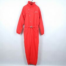 SPORTALM Vintage Mens Red Snowsuit Ski Suit One Piece Snowboarding SIZE Large, L
