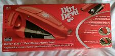 NEW Dirt Devil Gator 9.6V Cordless Hand Held Vacuum