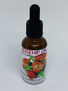 Rosehip (Vit. A) Skin Renewing Facial Oil With Antioxidants Brightening Hibiscus