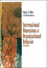 International Dimensions of Organizational Behavior by Nancy J. Adler and...
