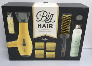 DryBar Big Hair Blowout Kit Buttercup Blow Dryer Brush Rollers Lifter Spray