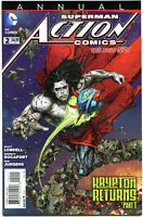 ACTION COMICS #2 Annual, VF/NM,  2013, Krypton Returns, more Superman in store
