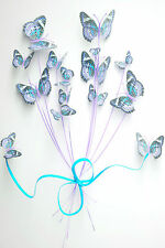 STUNNING ABSTRACT BOUQUET OF BUTTERFLIES CANVAS #29 A1 CANVAS PICTURE WALL ART