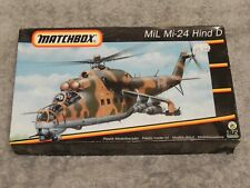 MATCHBOX 1/72 MiL Mi-24 HIND D HELICOPTER KIT