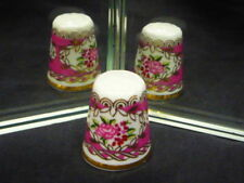 Franklin Mint Hammersley World's Greatest Porcelain House Bone China Thimble
