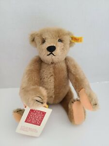 """VINTAGE """"1982-1990"""" STEIFF MOHAIR MARGARET STRONG TEDDY BEAR REPLICA OF """"1904"""""""