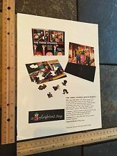 Three Stooges Vintage 1959 Colorforms Catalog Proof Page For Puzzles Curly