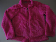 Crane Fleecejacke Jacke mit Reissverschluß ca. Gr. 128/134 Pink warm sehr schön