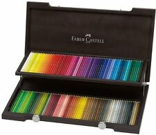 FABER CASTELL  POLYCHROMOS  ARTISTS COLOURED PENCILS - DELUXE 120 WOODEN BNIB