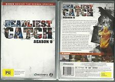 DEADLIEST CATCH COMPLETE SEASON 8 DISCOVERY CHANNEL THRILLING NEW 5 DVD SET