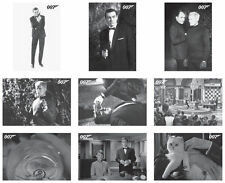 JAMES BOND- FROM RUSSIA WITH LOVE THROWBACK SET FULL 108 CARDS