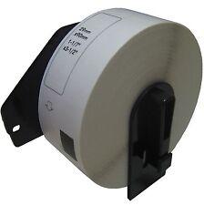 (4) Rolls DK-1201 Brother Compatible Labels.  (Includes black plastic core)