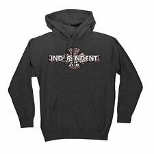 Independent Trucks Multifill Pullover Skateboard Hoodie Charcoal Heather Large