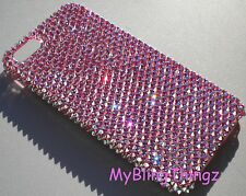 ROSE AB Bling Rhinestone Back Case for iPhone 5SE 5 5S made w/ Swarovski Crystal