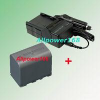 6Hrs Battery + Charger for JVC Everio GZ-HD6 GZ-HD7 GZ-HD7U BN-VF823 JVC GzHD7