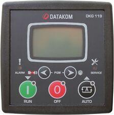 DATAKOM DKG-119 Panel de control del generador de arranque manual y remoto