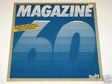 """MAGAZINE 60 MIXED MEDLEY 12"""" RECORD MADE IN FRANCE 1981"""