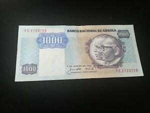 ANGOLA 1000 KWANZAS  BANKNOTE 1984