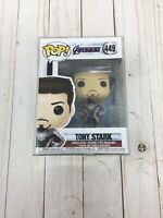 Funko Pop! #449 - Tony Stark (Iron Man) EndGame + Protector H12