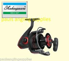 Shakespeare Sigma Supra Spin Spinning Fishing Reel 50 Frein Avant