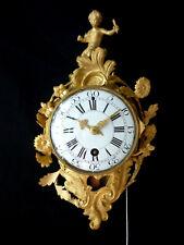 ORIGINALE LOUIS XV CARTEL UHR, ca. 1750, pendule d'alcove, boulle,