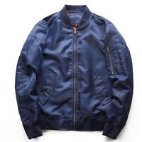 Men's jacket MA1 Flight Bomber Baseball Coat Jacket Embroidery Eagle Outwear