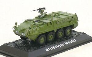 M1126 Stryker Infantry Carrier Vehicle, U.S. Army, 2003 ACBG14 Amercom Die-Cast