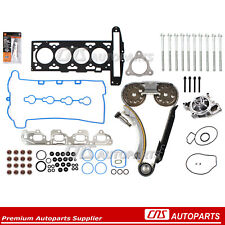 Head Gasket Set Bolts Timing Chain Kit Water pump 07-08 Chevrolet G5 HHR 2.2L