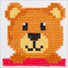 Embroidery Facet Art Kit ~ Diamond Dotz Mr. Handsom Teddy Bear #DDS001