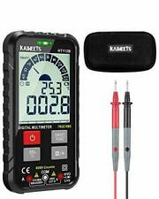 Kaiweets Lcd Digital Multimeter True Rms Acdc Voltage Tester Resistancemeter
