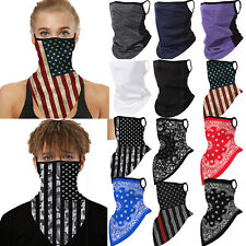 Balaclava Neck Gaiter Head Face Neck Tube Bandana Scarf Outdoor Mouth Cover Wrap