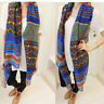 Women Long Soft Cotton Voile Print Scarf Wrap Shawl Large Scarves Stole KF