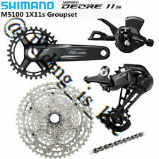 New SHIMANO Deore M5100 1X11 11 Speed MTB Groupset 11-51T 30T/32T/170MM/175MM