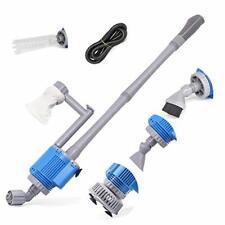 Upettools Aquarium Gravel Cleaner - Electric Automatic Removable Vacuum Water