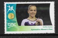 AUSTRALIA 2006 COMMONWEALTH GAMES GYMNASTICS Women's Floor Hollie Dykes 1v MNH