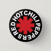 Chapa Pin ROCK, HEAVY METAL, PUNK, RED HOT CHILI PEPPERS