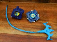 Beyblade Blue Phantom Force Dragoon - Hasbro 2002 w/ Rip Cord and Launcher