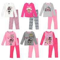 LOL Surprise Pyjamas for Girls (Long Sleeve) - Age: 4 to 10 Years