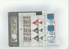 Nederland  16 postfrisse Velletjes tussen Nvph 1313 en 1652 KOOPJE!!