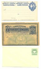 SOUTH AMERICA 9 x PS - INCL WITH REPLY PART -NOT USED - MOST VF