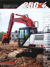 "Link-Belt ""250X4"" Hydraulic Crawler Excavator Brochure Leaflet"