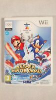 Nintendo Wii - Mario & Sonic at the Olympic Winter Games (2009) - No Manual
