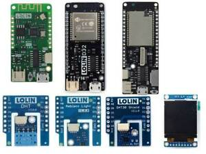 Latest Genuine WeMos LOLIN D32 ESP32 ESP8266 LOLIN D1 Mini Pro V2 & I2C Shields