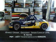Onyx 1/43 Renault Spider #47 Spider EuroCup 1998 O. Servià Gauloises Blondes