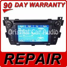 REPAIR SERVICE CADILLAC DTS SRX NAVIGATION CD RADIO SUPERNAV GPS 6 DISC DVD FIX