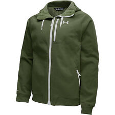 under armour mens coldgear infrared dobson cotton softshell olive green small
