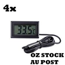4x LCD Digital Thermometer Fridge Freezer Aquarium FISH TANK Temperature Outdoor