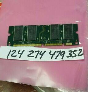 512MB  100-Pin  DDR DDR1 PC2700 333MHZ  NON-ECC UNBUFFERED CL2.5 PRINTER RAM