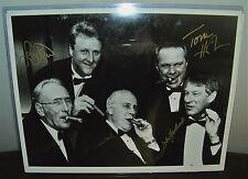 Signed Larry Bird, Red Auerbach, Cousy, Havlicek, Heinsohn Celtics Cigar Print